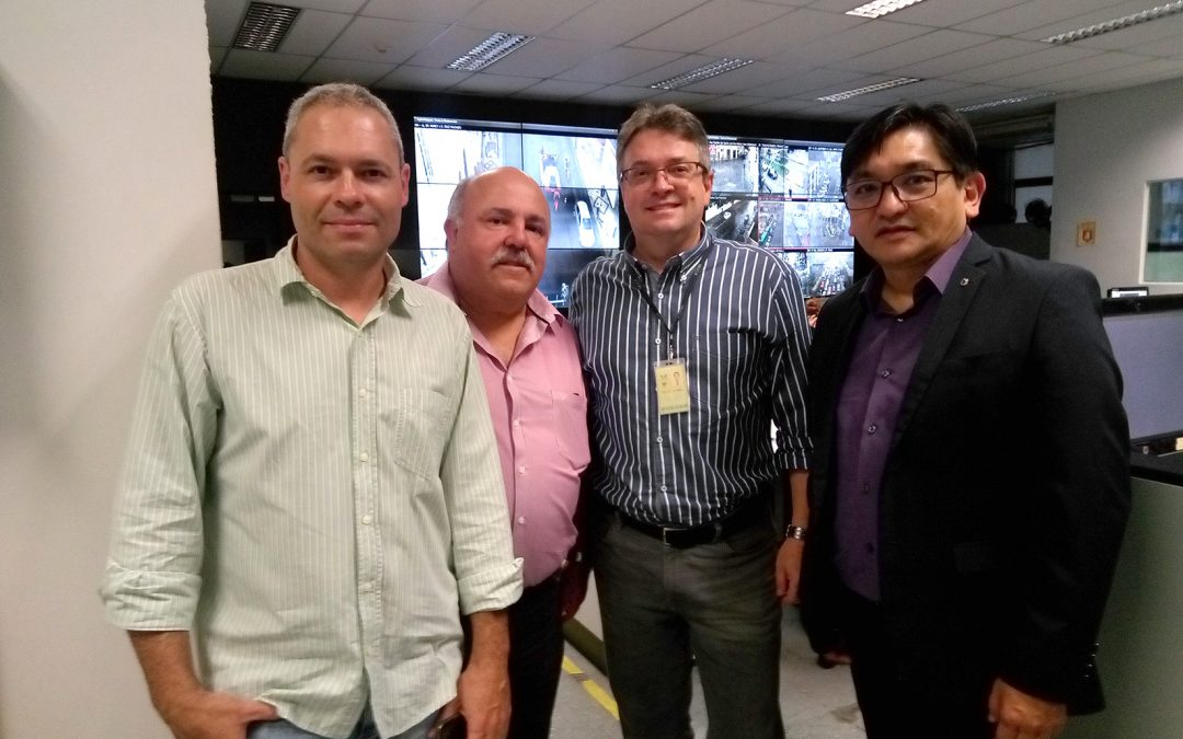 A SUCESU foi conhecer o CCO – Centro de Controle Operacional da URBS