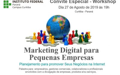 Palestra Marketing Digital para Pequenas Empresas