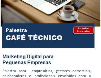 Café Técnico – Marketing Digital para Pequenas Empresas