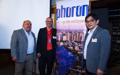 GU CIO recebe a multinacional Phoron