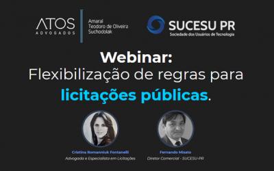 WEBINAR: Flexibilização de regras para licitações públicas