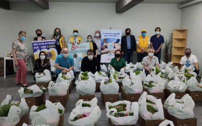 Sacolas Humanitárias para o Banco de Alimentos