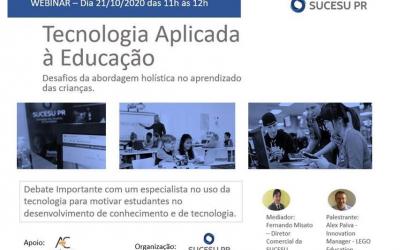 Webinar 21/10: Tecnologia Aplicada à Educação – LEGO Education